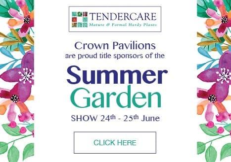Tendercare Crown Pavilions Summer Garden Show