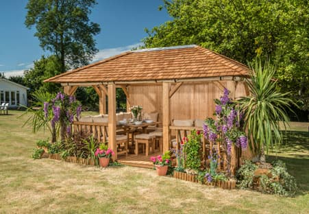 The Eden Luxury Gazebo