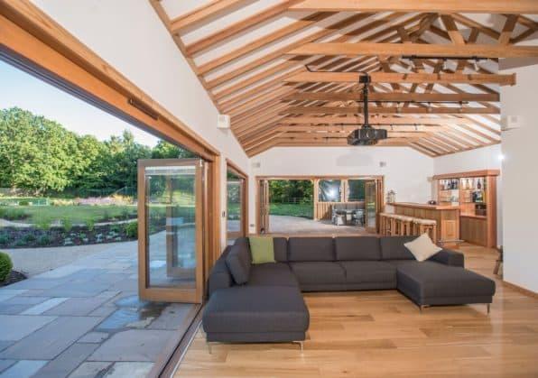 5 off all bespoke garden buildings crown pavilions for Bespoke garden office
