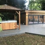 Sandringham Garden Room & Hot Tub Enclosure