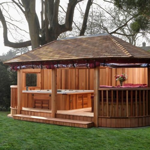 Bespoke Hot Tub Building