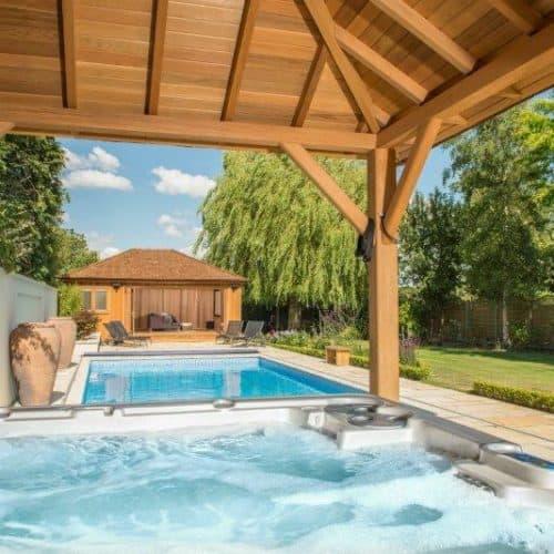 Bespoke Pool House and Hot Tub Gazebo
