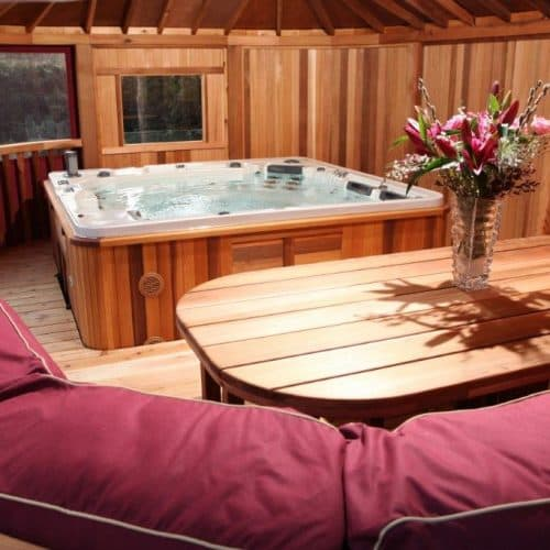 Gazebos with Hot Tub