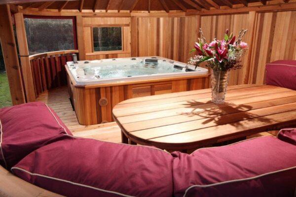 Gazebos with Hot Tub