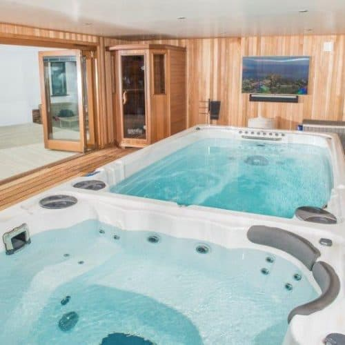 Bespoke Build with Endless Pool, Hot Tub & Sauna