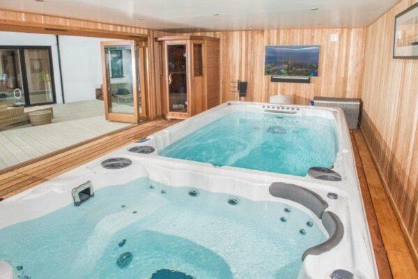 Bespoke Build with Endless Pool, Hot Tub & Sauna