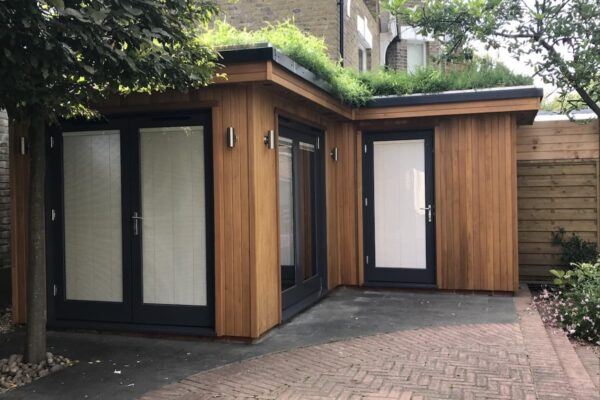 A Living Roof Garden Room in London