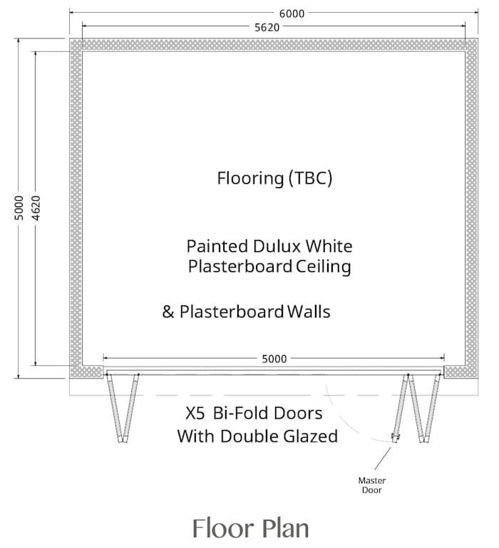 Insulated garden rooms wooden garden rooms crown pavilions for Buckingham choice floor plans