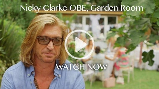 Click to watch Nicky Clarke Garden Room video