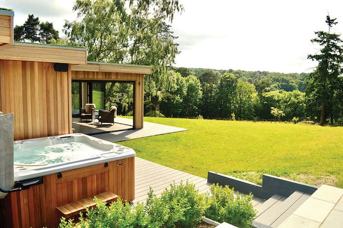 Garden Room with Hot Tub