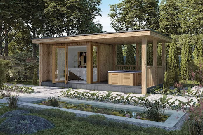 Medium Garden Rooms