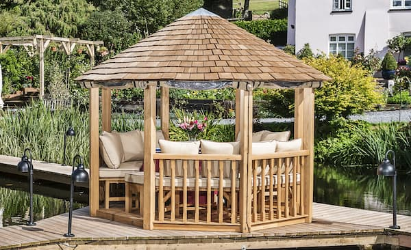 Crown Pavilions Bespoke Garden Rooms Luxury Wooden Gazebos