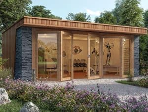 top 5 garden gym ideas you must consider  crown pavilions