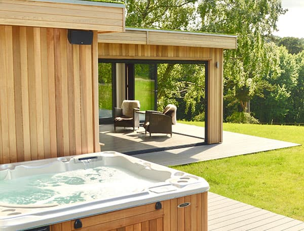Hot Tub Garden Room