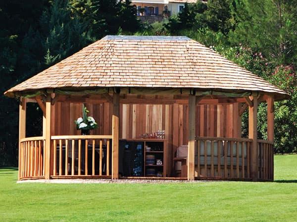 Wooden Garden Gazebos Luxury Gazebos Crown Pavilions