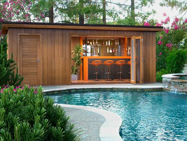 Pool House Garden Room