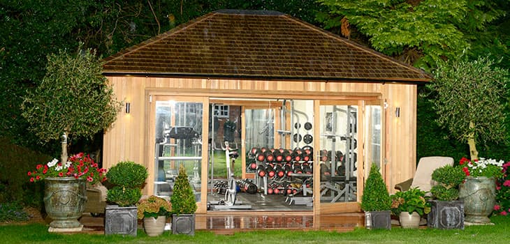 Garden Gym Rooms Additional Extras