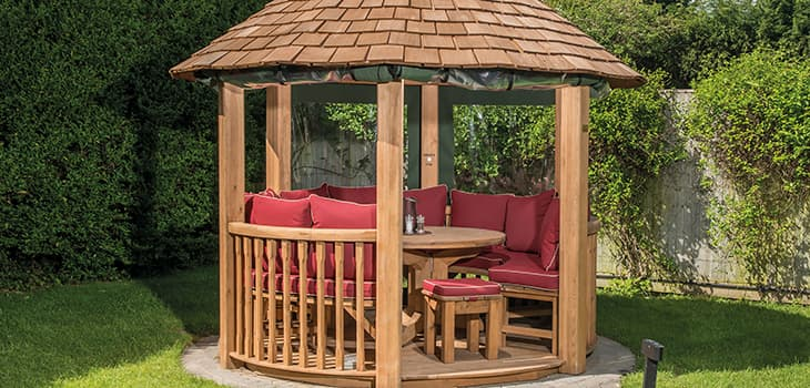Crown Elizabeth Luxury Gazebo Additional Extras