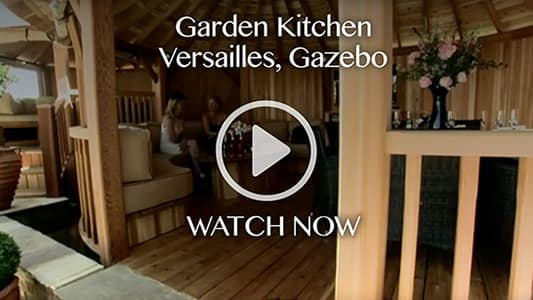 Garden Kitchen, Versailles Gazebo