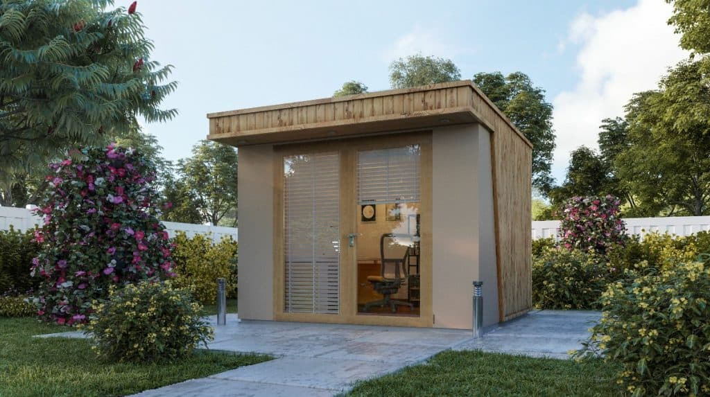 Small Clarence Garden Office