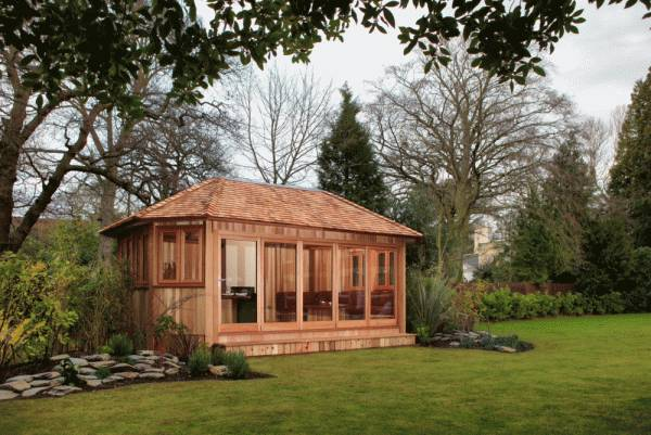 Bespoke Garden Room with Hipped Roof