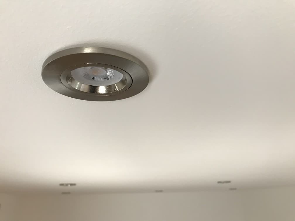 Recessed Internal Spotlights