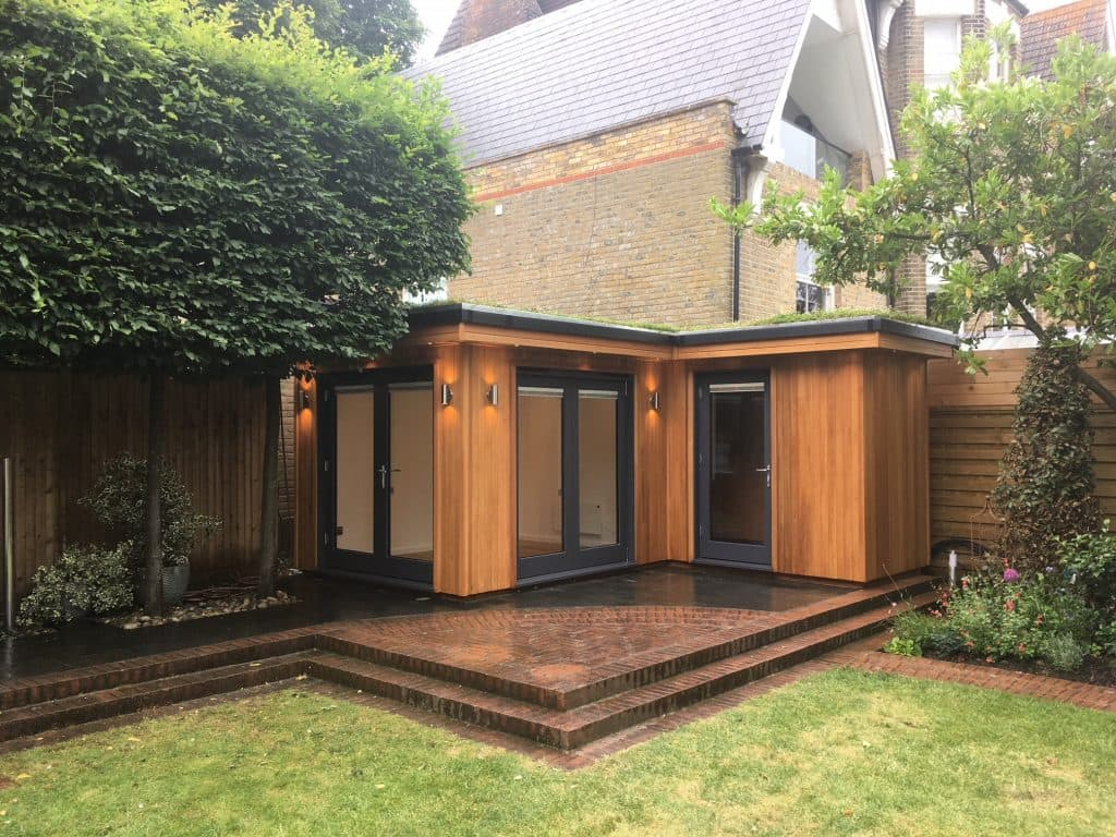 Bespoke L-Shaped Garden Room
