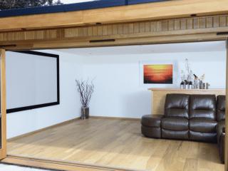 Crown Sandringham: Cinema Garden Room