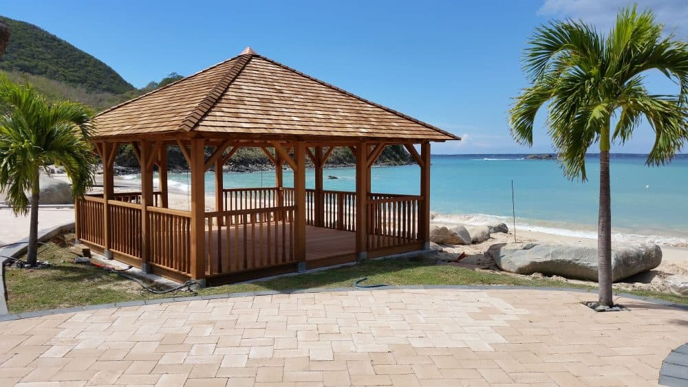 Bespoke Beach Gazebo