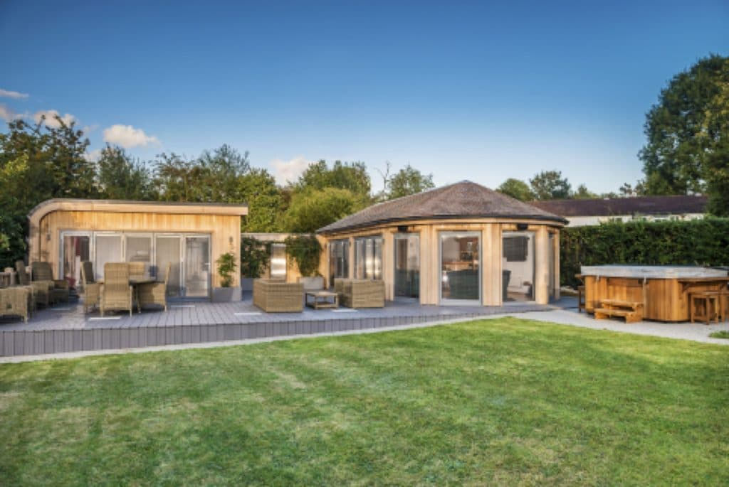 Bespoke Multi Building Garden Room