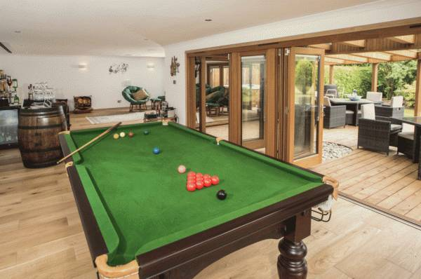 Large Bespoke Man Cave with Deck