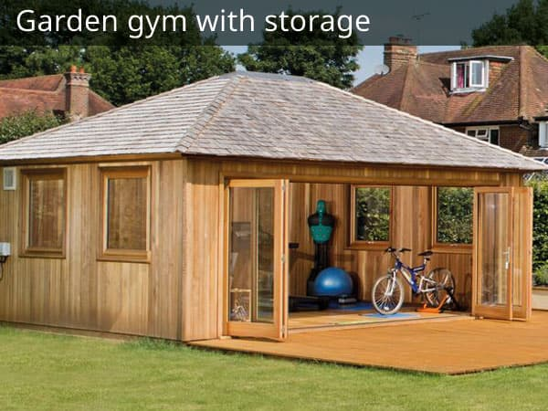 Garden Gym with Storage