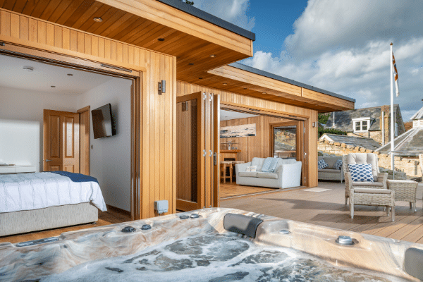 Hot Tub Garden Rooms