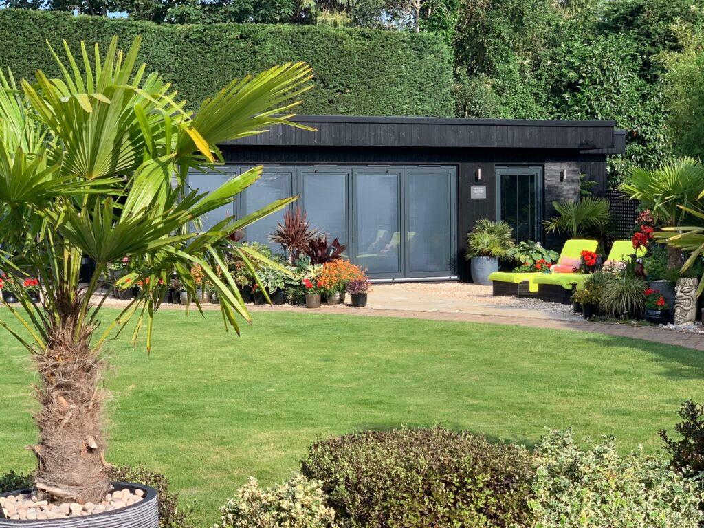 Bespoke Garden Room with Black Slate Finish