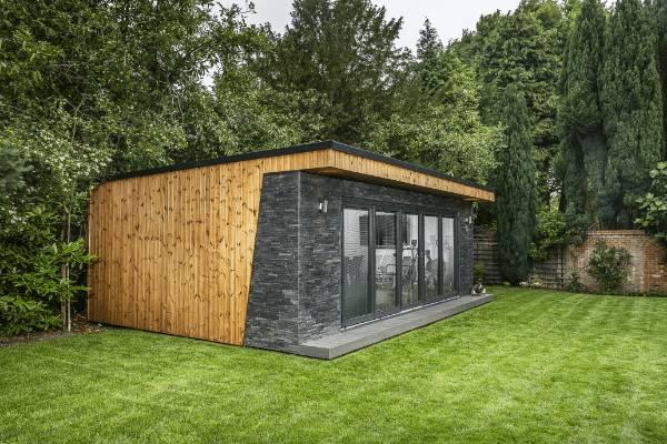 Clarence Garden Room with Dark Slate Finish
