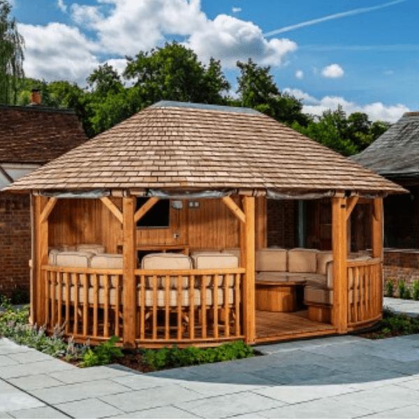 Crown Hampton Luxury Gazebo