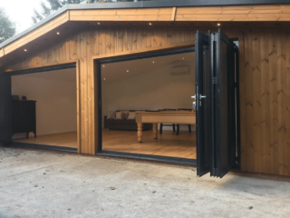 Bespoke Garden Room With Pitched Roof