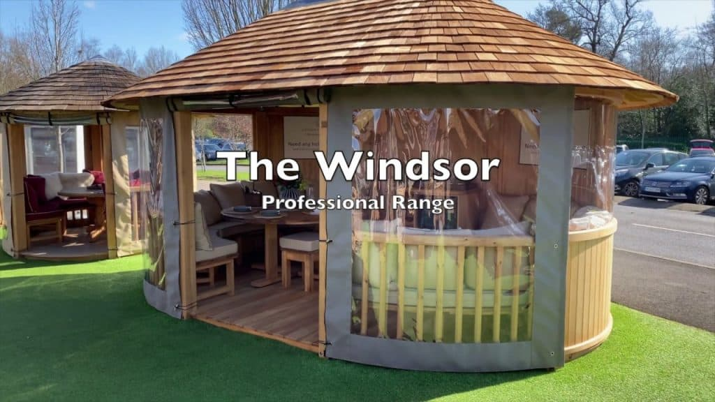 Windsor (Professional) Luxury Gazebo