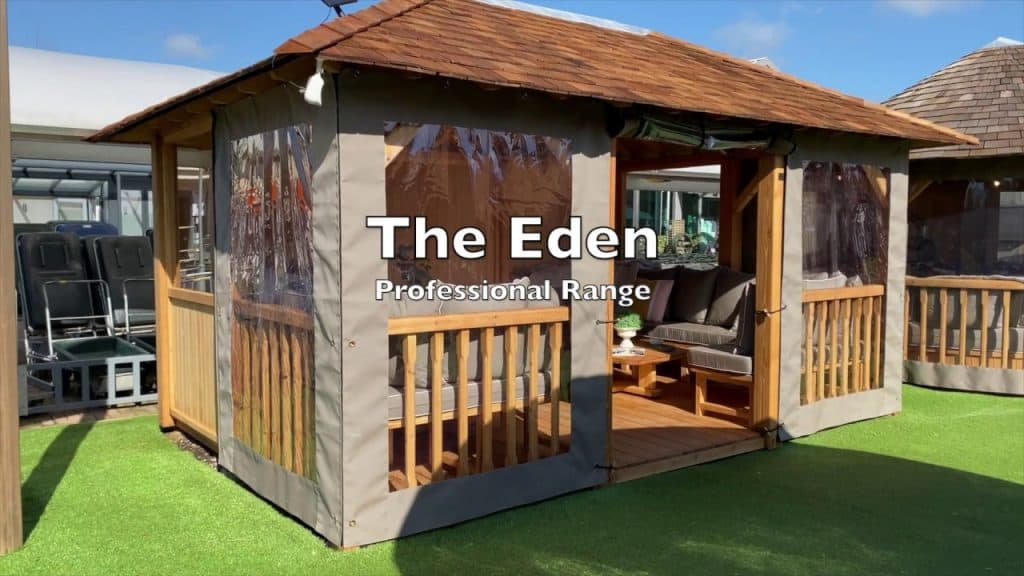 Eden (Professional) Luxury Gazebo