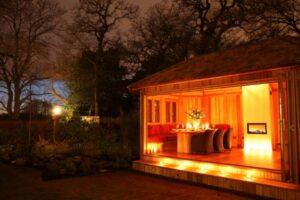garden room lighting ideas